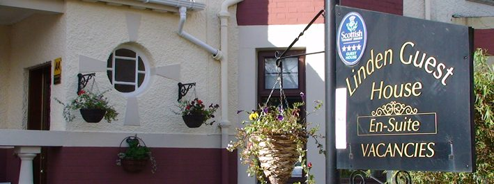 Linden Guest House, a 10 minute walk from Stirling train station